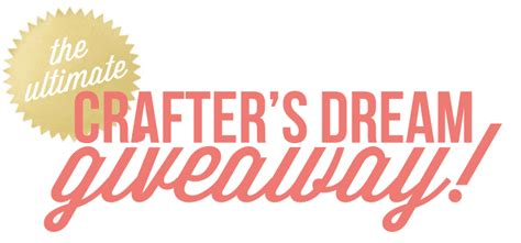 Craft Giveaways - big crafters giveaway worth 1400