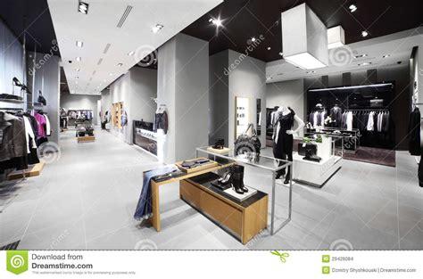 decoracion de tiendas de ropa modernas tienda moderna y de la moda de la ropa imagenes de archivo