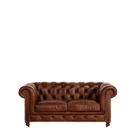 Chesterfield Two Seater Sofa by The Asquith 2 Seater Sofa Traditional Leather Sofas