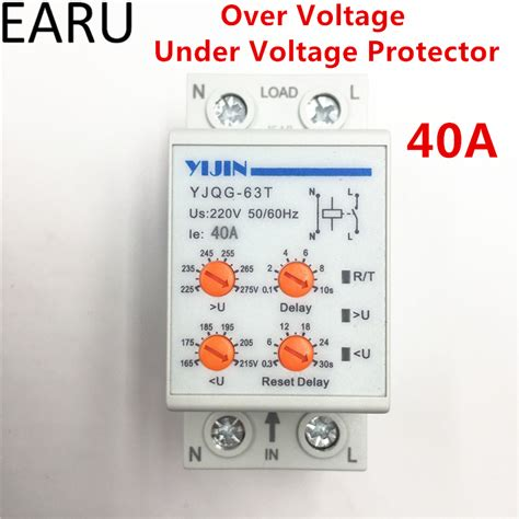 Protector Auto Recovery Mcb Din Rail Voltage 230v 40a protection device promotion shop for promotional protection device on aliexpress