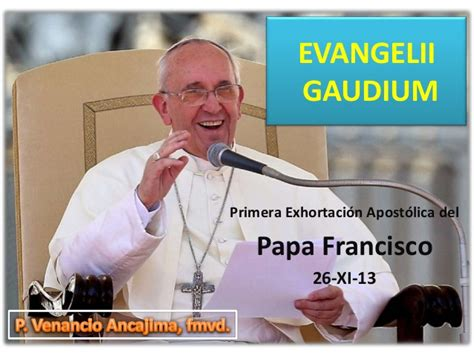 evangelii gaudium resumen evangelii gaudium