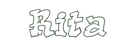 coloring page first name coloring page first name rita