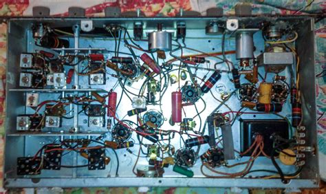 Old Cabinet Radio Jeffrey Revives An Old Friend His Hallicrafters Sx 110