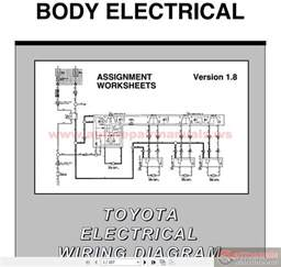 toyota electrical wiring diagram workbook auto repair manual forum heavy equipment forums