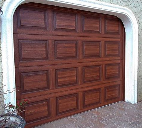 Best Metal Garage Door Paint by 17 Best Ideas About Faux Wood Paint On Painted