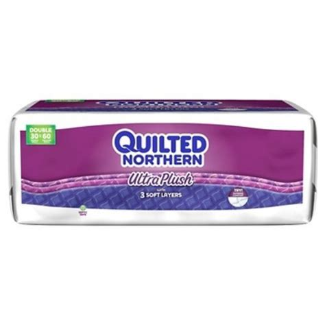 northern bathroom tissue quilted northern ultra plush bathroom tissue 3 ply white