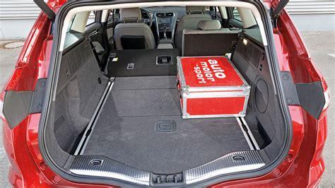 Ford Mondeo Kofferraumvolumen by Der Ford Mondeo Bietet Ein Kofferraumvolumen 500 Bis 1