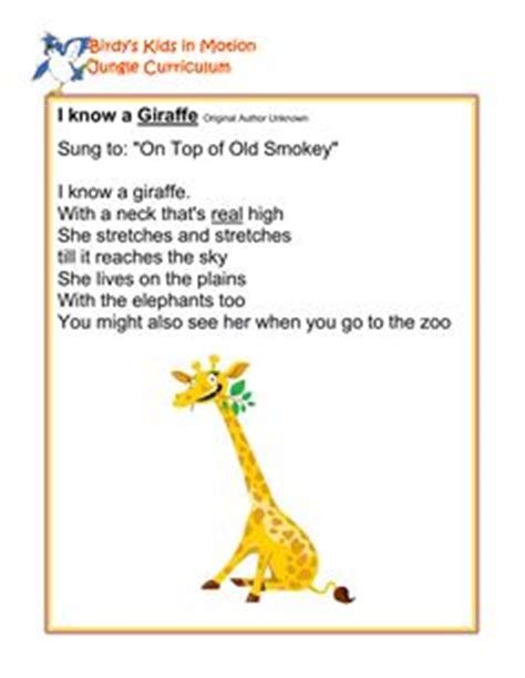 theme music to zoo time african animals poem ks1 children poem pinterest