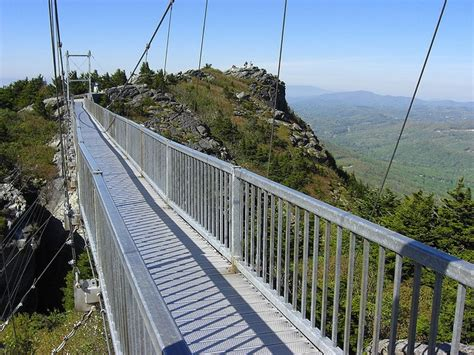 mile high swinging bridge blowing rock nc 59 best grandfather mountain images on pinterest north