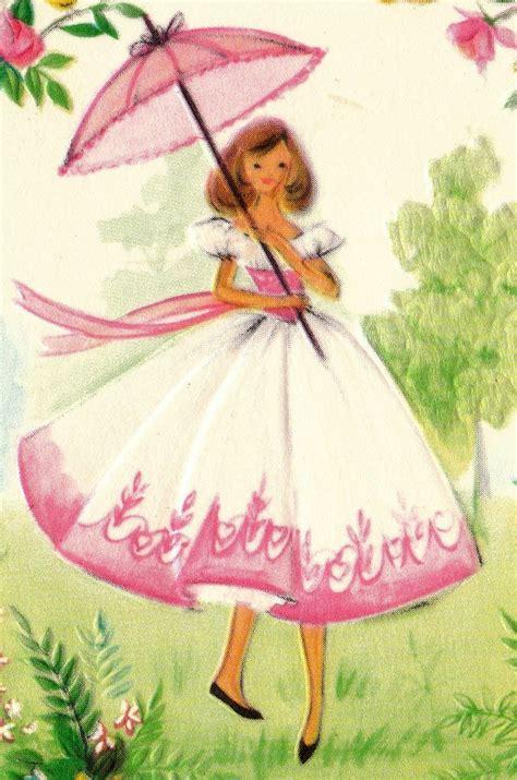 vintage 1960s greetings card southern