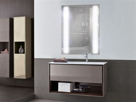 lighted bathroom mirror cabinet modern lighted bathroom mirror design all about home design