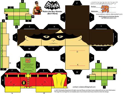 Cubee BATMAN 60'S TV Robin by njr75003 on DeviantArt