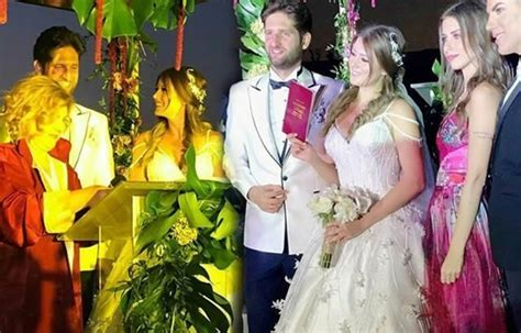 Pictures: Turkish Actress Gizem Karaca Gets Married