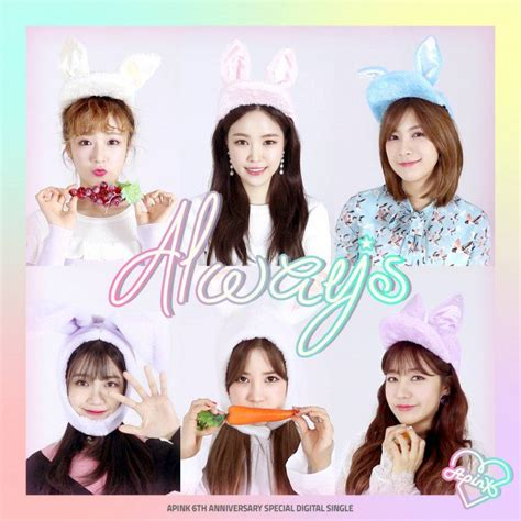 Apink Pink Up 6th Mini Album apink s 6th anniversary mv teaser for always