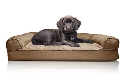 furhaven pet bed furhaven quilted orthopedic sofa dog bed pet bed ebay