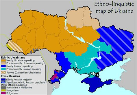 russia linguistic map ukraine maps