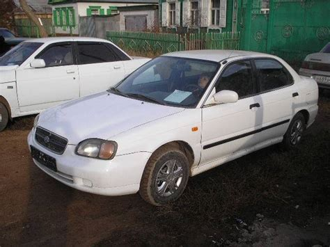 manual cars for sale 1999 suzuki esteem engine control 1999 suzuki baleno images 1300cc gasoline ff manual for sale