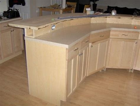 two tier island with sink and dishwasher would prefer construction detail 2 tier kitchen island with electrical