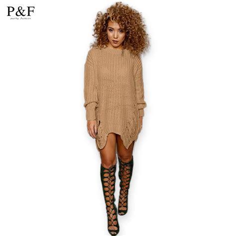 2016 new sweater dress fashion winter autumn