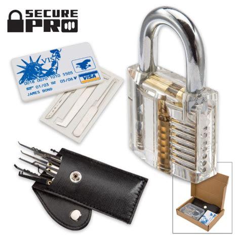 Credit Card Lock Set secure pro practice lock kit with credit card lock set chkadels survival cing gear