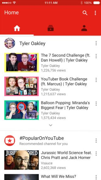new youtube layout october 2015 youtube for ios updated unhappy users ranked it with one