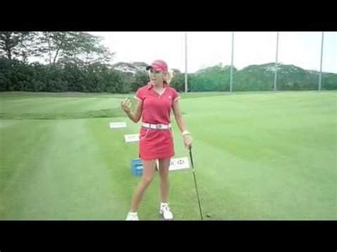 golf short swing golf swing strategies short game clinic with natalie