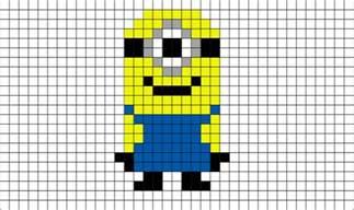 pixel minion brik