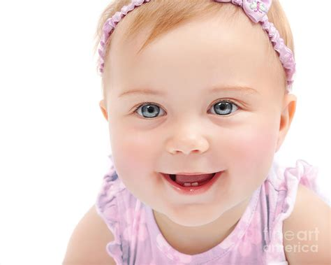 cute child cute baby girl portrait photograph by anna om