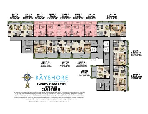 floor plan resort bayshore residential resort