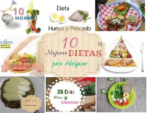 dietas las 10 mejores dietas para adelgazar de 2016 10 mejores dietas para adelgazar