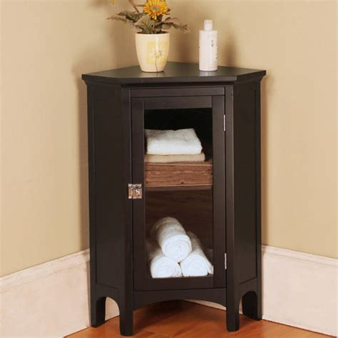 Space Efficient Corner Bathroom Cabinet For Your Small Small Corner Cabinet Bathroom