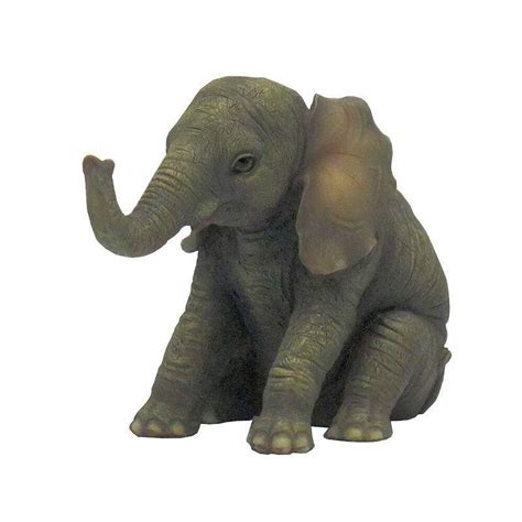 elephant figurines elephant figurine baby wants a hug