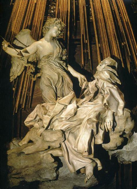 bernini illuminati gianlorenzo bernini the ecstasy of theresa 1644