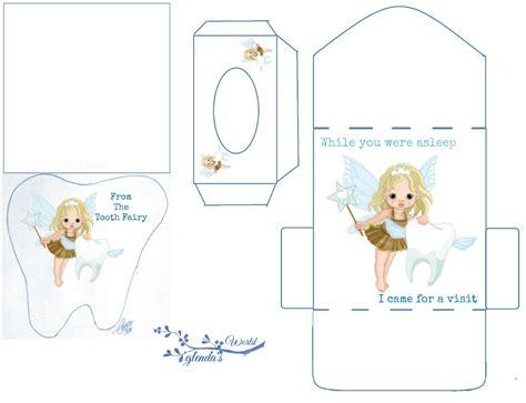glenda s world tooth fairy card kit