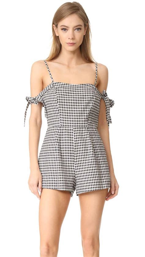 Gingham Romper 10 trendy gingham rompers for and summer 2017