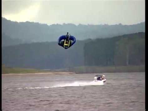 flying boat tube video sevylor manta ray flying towable watercraft youtube