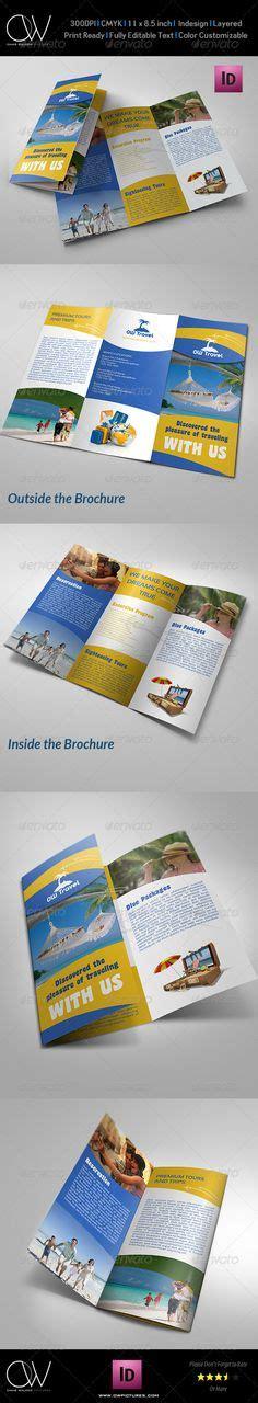 tri fold brochure template travel agency free travel agency