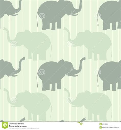 cute elephant pattern cute pastel elephant seamless pattern background