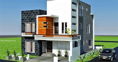 3d front elevation com modern house plans house designs 3d front elevation com 10 marla modern architecture