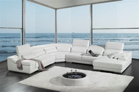 genuine leather sectional yelp