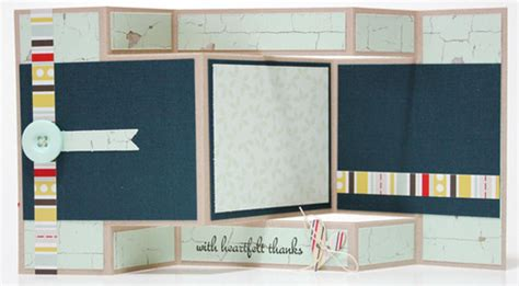 How to make a tri panel card featuring fancy pants designs a cherry