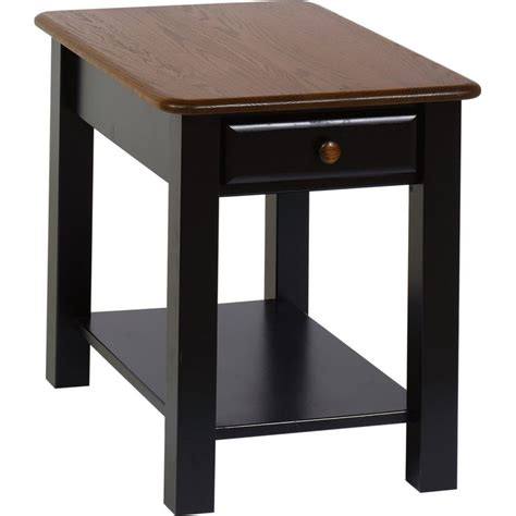 carlisle speciality end table amish crafted furniture