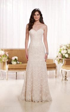 D1758 modified a line wedding dress by essense of australia available