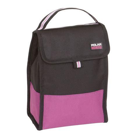 folding lunch raspberry active polar gear lunch bag buy
