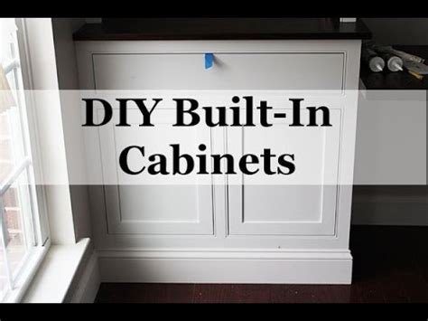 diy built ins with stock cabinets diy built in cabinets with beaded frames