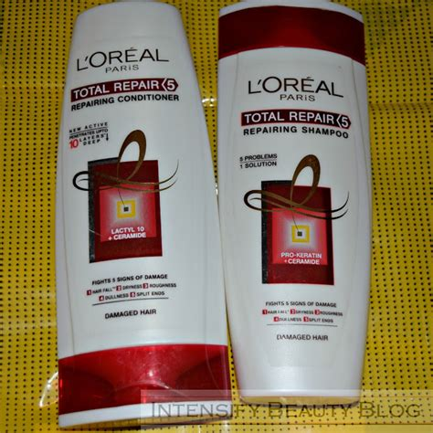 Loreal Kondisioner review loreal total repair shoo and conditioner