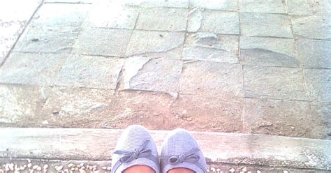 Sepatu Ando Ungu ratmaniar flat shoes dan sendal jepit