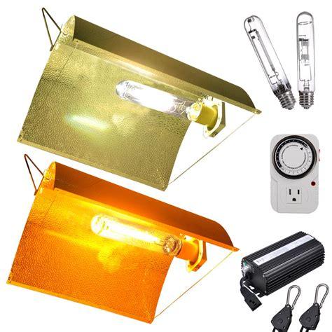 grow light kits 250 watt digital hps mh grow light kit hydroponic dimm ballast reflector set opt ebay