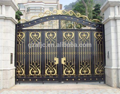 Residential Entrance Gates Villas Gate Metal Gates Home House Metal Front Door Gates