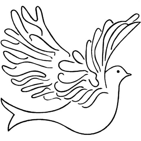 coloring pages dove bird big dove coloring page drawing bird pages grig3 org